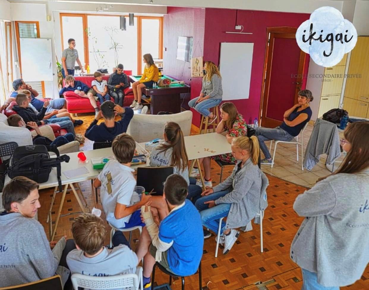 Une école secondaire où on apprend autrement à Liège!